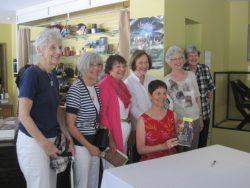 Barbara at Stratford with Book Club
