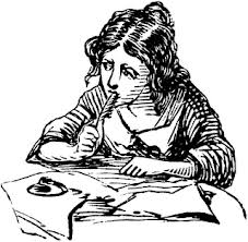 Lady-Writing